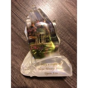 Thomas Kinkade The Garden of Prayer figurine